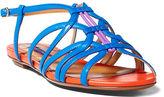 Ralph Lauren Mandel Color-Blocked Sandal