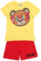 Moschino Teddy Printed Jersey T-Shirt & Shorts