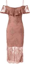 Nicholas Octavia Lace Pencil Dress