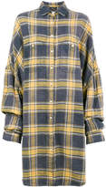 R 13 Oversized Plaid Shirt