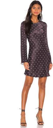 Shona Joy O'dell Long Sleeve Bias Mini Dress