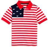 Vineyard Vines Boys' USA Flag Polo - Big Kid