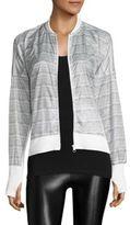 Blanc Noir Feather Weight Heathered Jacket