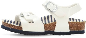 Birkenstock Faux Patent Leather Sandals