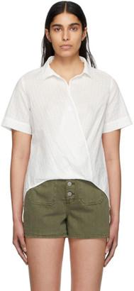 Rag & Bone White Stripe Kristine Shirt