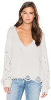 Wildfox Couture Sparkle Shapes Sweater