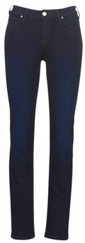 Lee MARION STRAIGHT DARK MULBERRY women's Jeans in Blue