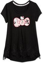 Hello Kitty Bow Graphic-Print T-Shirt, Little Girls (4-6X)