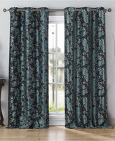 """Kensie Home Nellie Jacquard Pair of 38'' x 84"""" Curtain Panels"""