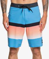 Quiksilver Men's Board Shorts BLITHE - Blithe Blue High Slab Board Shorts - Men