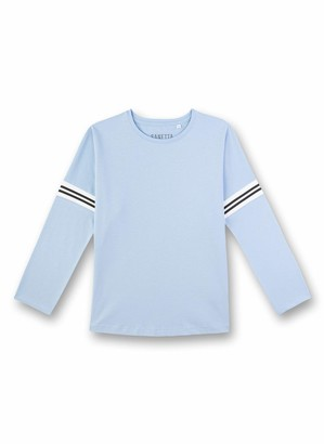 Sanetta Girl's Langarmshirt Pyjama Top