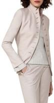 Akris Women's Stretch Wool Flannel Jacket