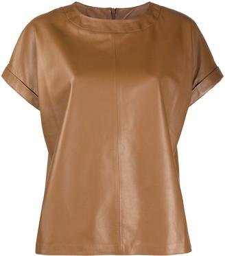 Peserico round neck short-sleeved T-shirt
