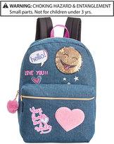 Global Design Concepts Denim Patches Backpack, Little Girls (2-6X) & Big Girls (7-16)