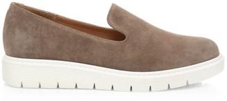 Aquatalia Kay Slip-On Suede Sneakers