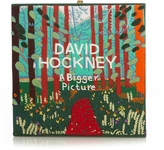 Olympia Le-Tan A Bigger Picture by David Hockey square box clutch