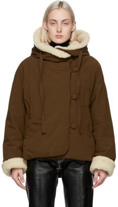 Ienki Ienki Khaki Down Sherpa Jacket