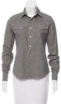Ralph Lauren Gingham Button-Up Top