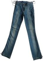 Plein Sud Jeans Blue Cotton - elasthane Jeans for Women Vintage