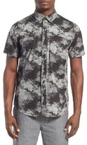 Tavik Men's 'Shin' Regular Fit Short Sleeve Print Woven Shirt