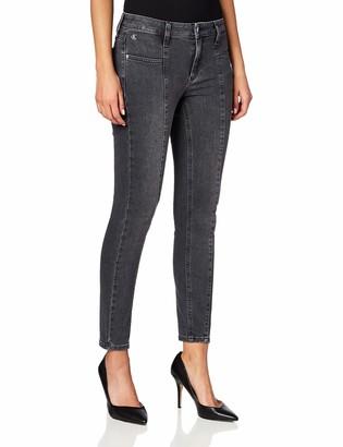 Calvin Klein Jeans Women's MID Rise Sleek Skinny Ankle Pants