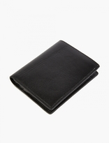 Want Les Essentiels Black Leather 'bradley' Bi-fold Wallet