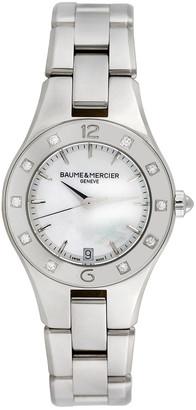Heritage Baume & Mercier Baume & Mercier 2000S Women's Linea Casual Style Diamond Watch