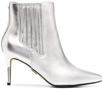 Buffalo David Bitton Metallic Ankle Boots