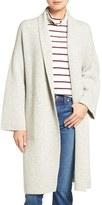 Madewell Women's Shawl Collar Merino Wool Sweater Coat