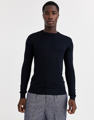 French Connection crew neck fine gauge sweater