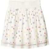 Stella McCartney Stars Embroidered Skirt (Toddler/Little Kids/Big Kids) (Multi) Girl's Skirt