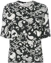 Christian Wijnants Tesla T-shirt - women - Spandex/Elastane/Viscose - M