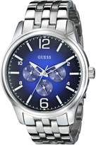 GUESS GUESS? Men's U0252G2 On Time Stainless Steel Watch