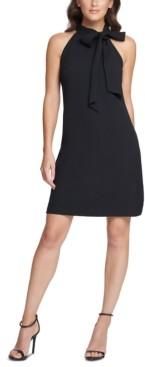 Vince Camuto Plus Size Bow-Neck Shift Dress