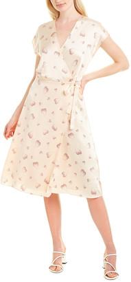 Joie Bethwyn B Silk Wrap Dress