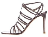 Valentino Braided Cage Sandals