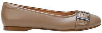 Hush Puppies Wairo Taupe Flat Shoe