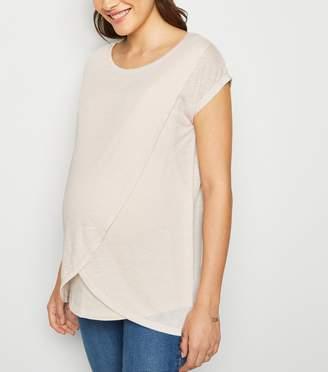 New Look Maternity Nursing Wrap T-Shirt