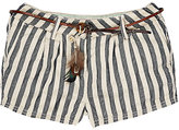 Scotch R'Belle STRIPED SHORTS-NAVY SIZE 6
