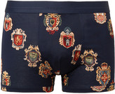 Dolce & Gabbana - Printed Cotton-jersey Boxer Briefs