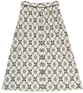 Swildens Sale - Qeen Two-Tone Jacquard Skirt