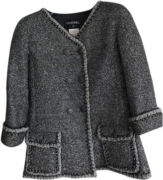 Chanel Silver Tweed Jackets