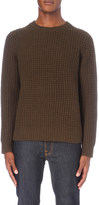 Vince Crewneck wool and cashmere-blend jumper