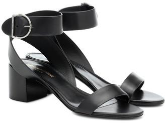 Saint Laurent Charlie leather sandals