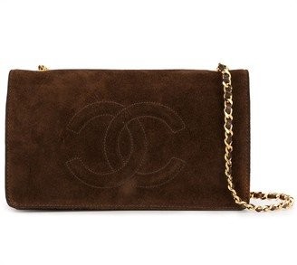 Chanel Pre Owned 1995 CC chain wallet bag