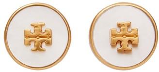 Tory Burch Kira Semiprecious Circle-Stud Earring
