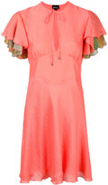 Just Cavalli flared dress - women - Silk/Polyester/Viscose - 38