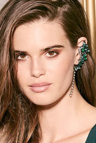 LuLu*s Ocean's Jewels Blue and Green Rhinestone Ear Cuffs