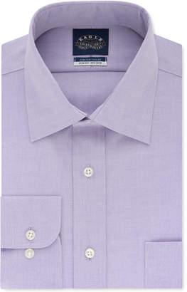 Eagle Men Slim-Fit Non-Iron Flex Collar Dress Shirt