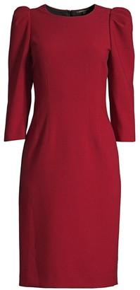 Kobi Halperin Jody Princess-Sleeve Sheath Dress